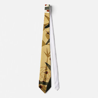 Innocence in Extremis Brown Grunge Necktie. Tie