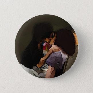 Innocence Kiss 6 Cm Round Badge