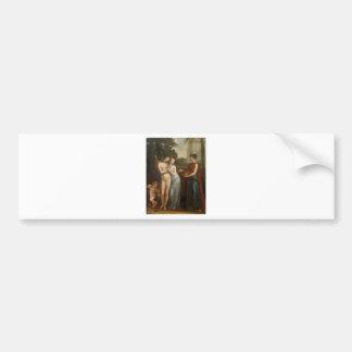 Innocence Preferring Love to Wealth by Pierre-Paul Bumper Sticker