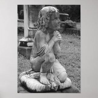 """Innocence""  Victorian Statuary Art Poster"