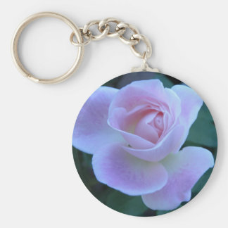 Innocent blush basic round button key ring