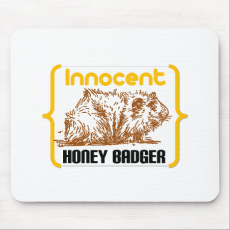 Innocent Honey Badger new Mouse Pads