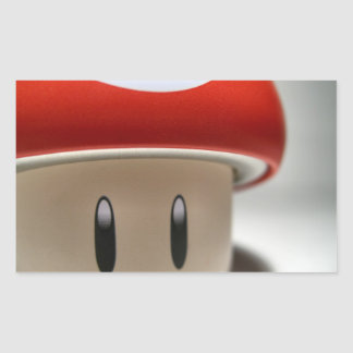 Innocent Mushroom Rectangular Sticker