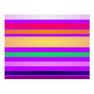 Innocent Stripes Postcard