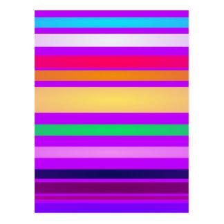 Innocent Stripes Post Cards