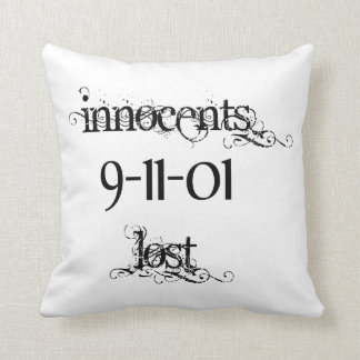 Innocents Lost 9-11-01 Throw Pillow