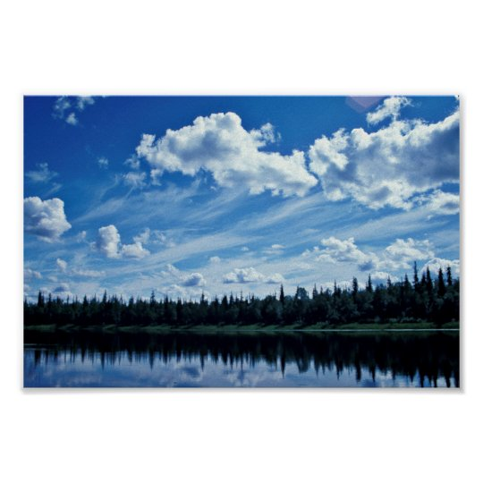 Innoko National Wildlife Refuge Landscape Poster