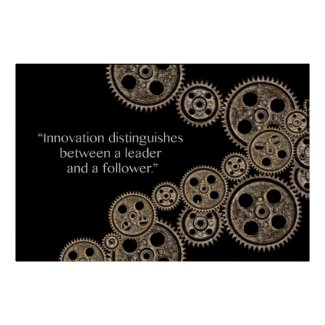 Innovation distinguishes poster