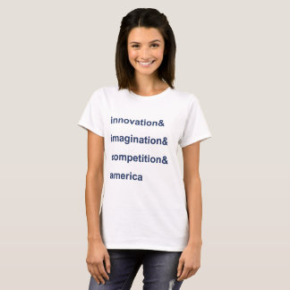 Innovation Imagination Competition America Blue T-Shirt