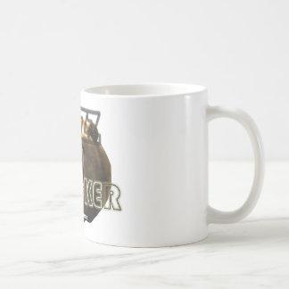 """InnovativDezynz's """"GRIZZ TRACKER"""" Mug"""