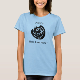 Innovision -Pisces Baby Doll T-Shirt