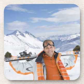Innsbruck, Austria Beverage Coasters