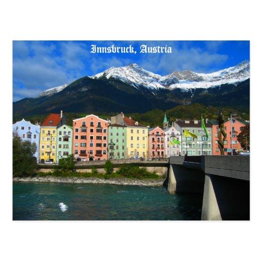 Innsbruck Austria Post Card