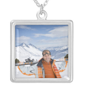 Innsbruck, Austria Silver Plated Necklace