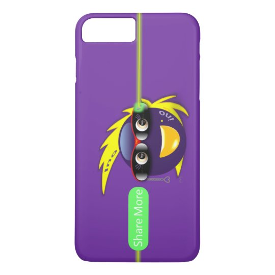 Ino AI Purple Force Case iPhone 8 (Share