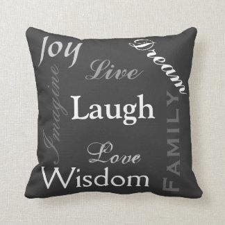 Inpirational Words Cushion