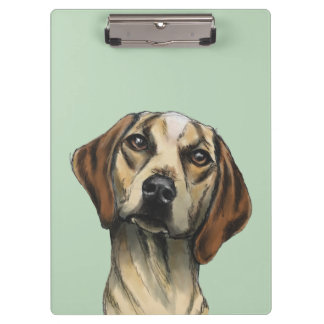 Inquisitive Hound Rendering Clipboard