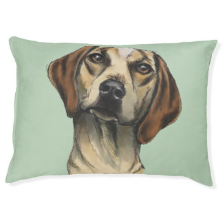 Inquisitive Hound Rendering Pet Bed
