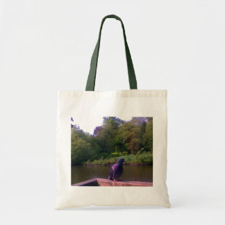 Inquisitive Pigeon Tote Bag