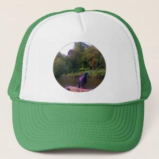 Inquisitive Pigeon Trucker Hat
