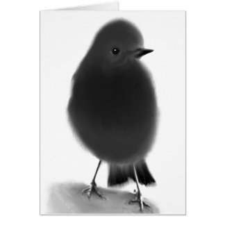 Inquisitive Robin Greeting Card