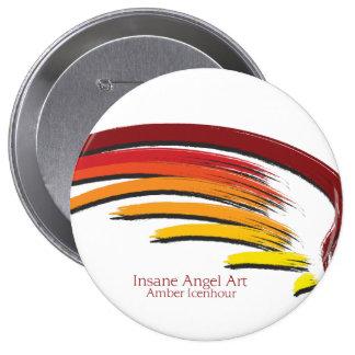 Insane Angel 10 Cm Round Badge