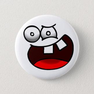 Insane Face Badge