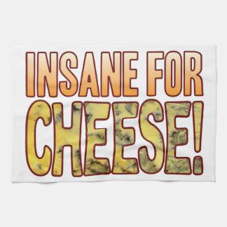 Insane For Blue Cheese Tea Towel