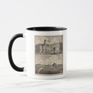 Insane Hospital, Public School Building, Minnesota Mug