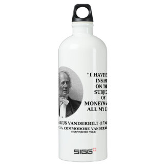Insane On The Subject Of Moneymaking Quote SIGG Traveller 1.0L Water Bottle