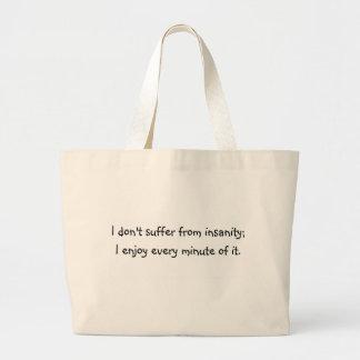 Insanity Jumbo Tote Bag