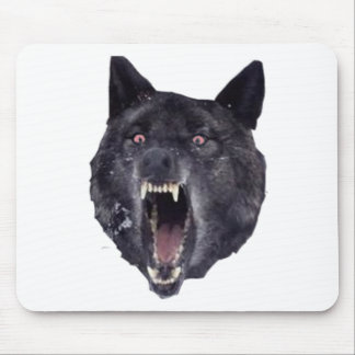 Insanity wolf mouse mat