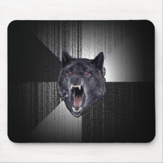 Insanity Wolf Mouse Pad