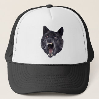 Insanity wolf trucker hat