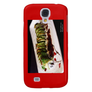 Insect Catipillar Sushi Gifts Collectible Samsung Galaxy S4 Cover