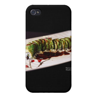 (Insect) Catipillar Sushi Gifts & Collectible Covers For iPhone 4