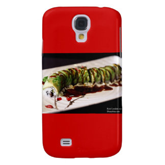 (Insect) Catipillar Sushi Gifts & Collectible Galaxy S4 Case