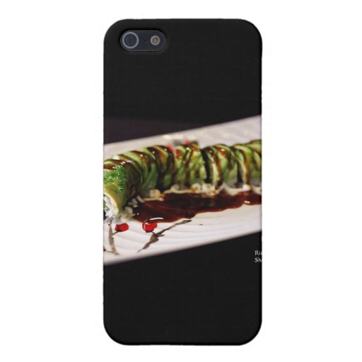 (Insect) Catipillar Sushi Gifts & Collectible Cases For iPhone 5
