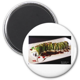 (Insect) Catipillar Sushi Gifts Tees & Collectible 6 Cm Round Magnet