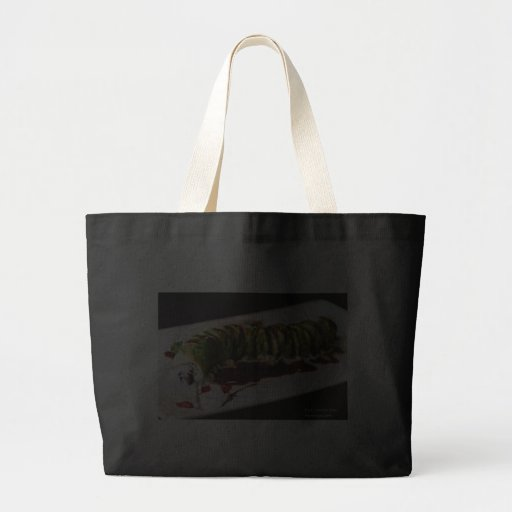 (Insect) Catipillar Sushi Gifts Tees & Collectible Bags