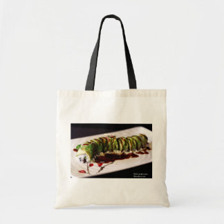 (Insect) Catipillar Sushi Gifts Tees & Collectible Budget Tote Bag