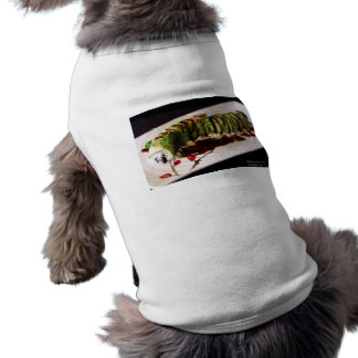 (Insect) Catipillar Sushi Gifts Tees & Collectible Dog T Shirt