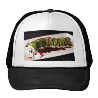 (Insect) Catipillar Sushi Gifts Tees & Collectible Mesh Hats