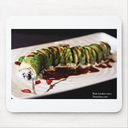 (Insect) Catipillar Sushi Gifts Tees & Collectible Mousepad