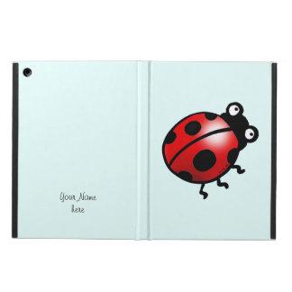 insect ladybug cartoon iPad air cover