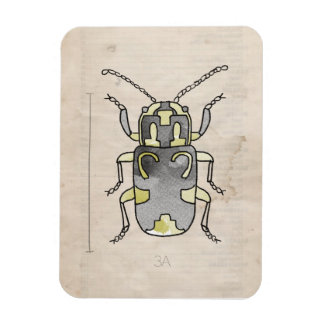 Insect Series | Green Beetle Rectangular Magnet