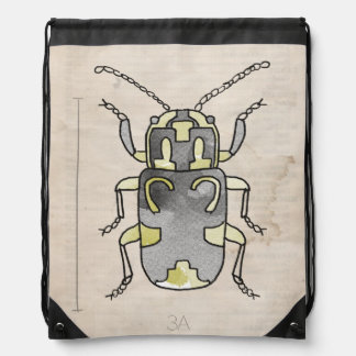 Insect Series | Green Beetle Rucksack