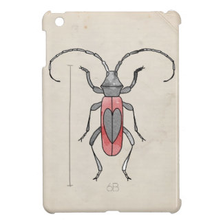 Insect Series | Red Beetle iPad Mini Cases
