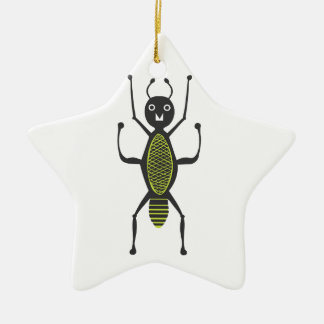 Insects fun cool graphic Ant Christmas Ornament