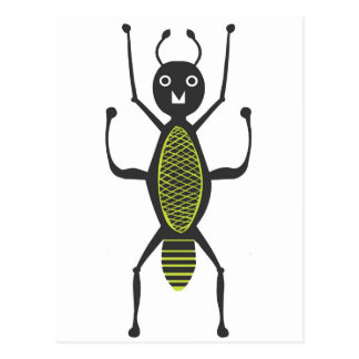 Insects fun cool graphic Ant Postcard